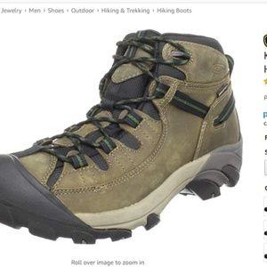 KEEN Women's Targhee Waterproof Hiking Boot 8
